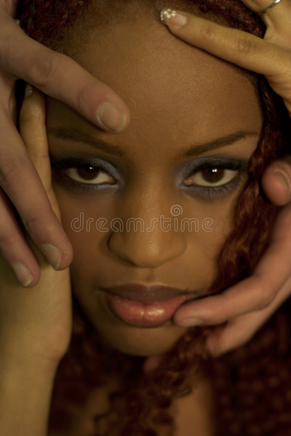 ο Μαύρος ομορφιάς στοκ εικόνες με δικαίωμα ελεύθερης χρήσης