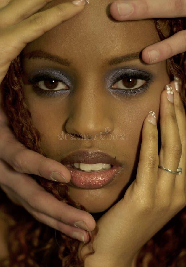 ο Μαύρος ομορφιάς στοκ φωτογραφία