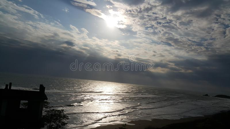 Ο μεγάλος ωκεανός στοκ εικόνες