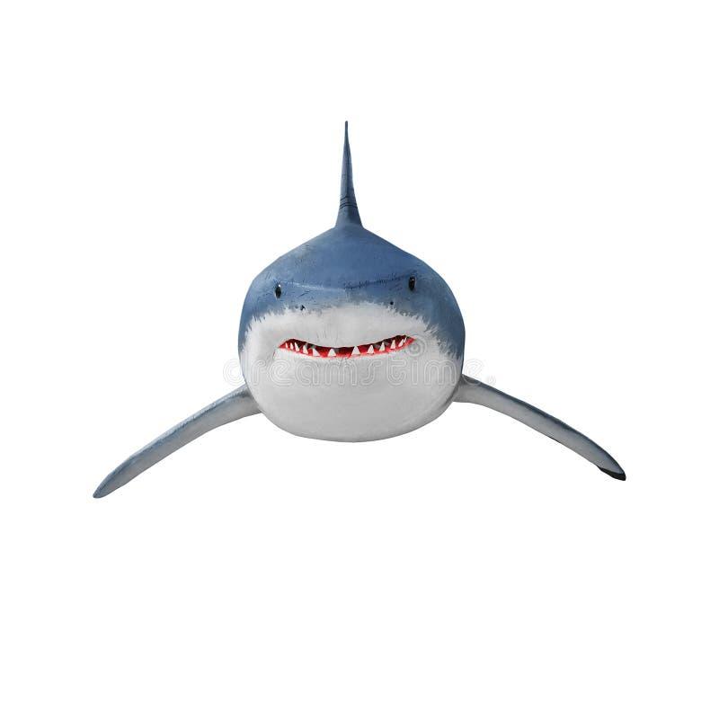 Ο μεγάλος άσπρος καρχαρίας στοκ εικόνες με δικαίωμα ελεύθερης χρήσης