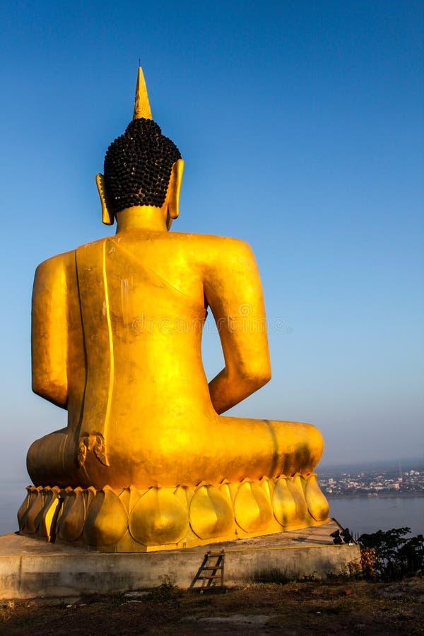 Ο μεγάλος Βούδας σε Pakse στοκ εικόνες με δικαίωμα ελεύθερης χρήσης