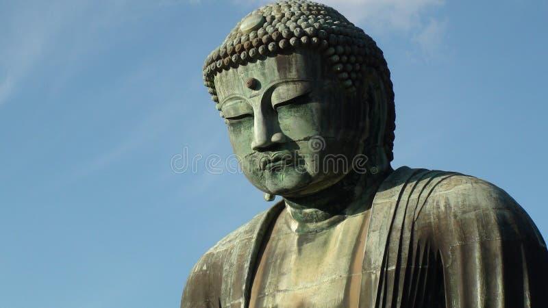 Ο μεγάλος Βούδας Kamakura στοκ φωτογραφίες με δικαίωμα ελεύθερης χρήσης