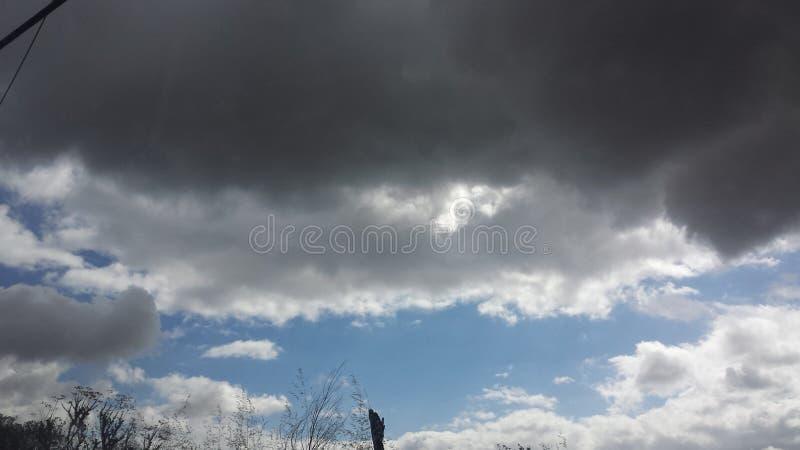 Ο μεγάλος ουρανός της θέσης του Σαν Ντιέγκο στοκ φωτογραφία