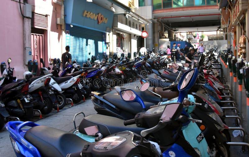 Ο μετρητής χώρων στάθμευσης για τη μοτοσικλέτα στοκ εικόνες με δικαίωμα ελεύθερης χρήσης