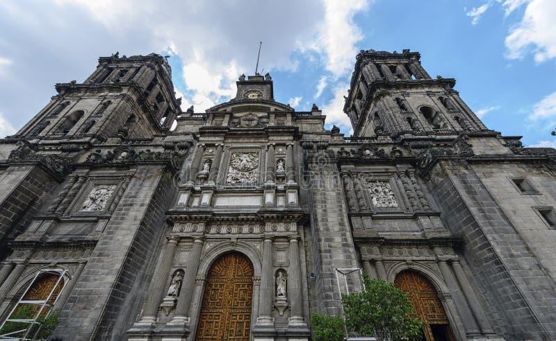 Ο μητροπολιτικός καθεδρικός ναός του Μεξικού Γ στοκ εικόνα με δικαίωμα ελεύθερης χρήσης