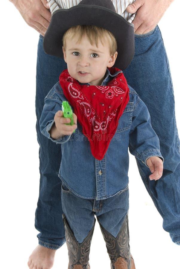 ο μπαμπάς ι ll σας προστατεύει στοκ φωτογραφία