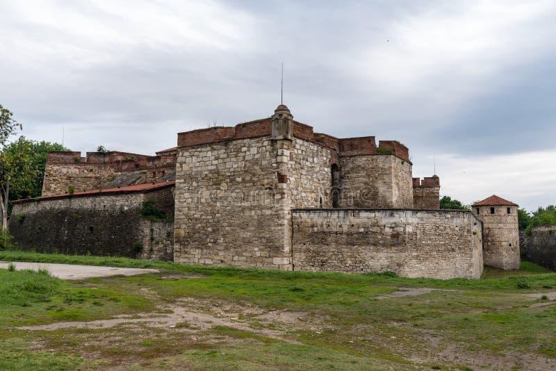 Ο μπαμπάς Vida είναι ένα μεσαιωνικό φρούριο σε Vidin στη βορειοδυτική Βουλγαρία και πόλης αρχικό ορόσημο στοκ εικόνες