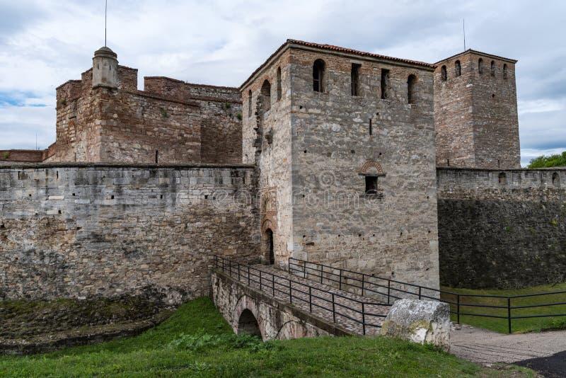 Ο μπαμπάς Vida είναι ένα μεσαιωνικό φρούριο σε Vidin στη βορειοδυτική Βουλγαρία και πόλης αρχικό ορόσημο στοκ φωτογραφίες με δικαίωμα ελεύθερης χρήσης