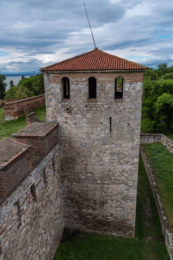 Ο μπαμπάς Vida είναι ένα μεσαιωνικό φρούριο σε Vidin στη βορειοδυτική Βουλγαρία και το πόλης αρχικό ορόσημο στοκ εικόνα με δικαίωμα ελεύθερης χρήσης