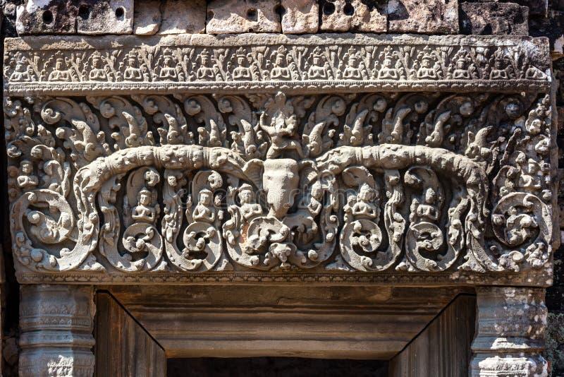 Ο ναός ανατολικού Mebon στο Angkor Wat σύνθετο σε Siem συγκεντρώνει, Καμπότζη στοκ εικόνα