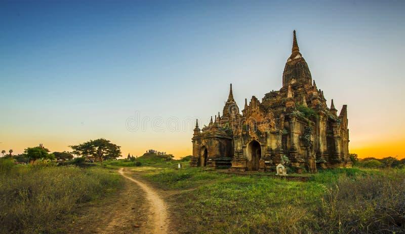 Ο ναός σε Bagan, το ΜΙΑΝΜΆΡ στοκ εικόνες