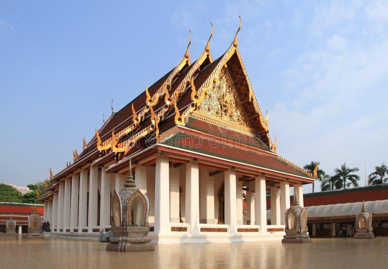 Ο ναός στη Μπανγκόκ στοκ φωτογραφία