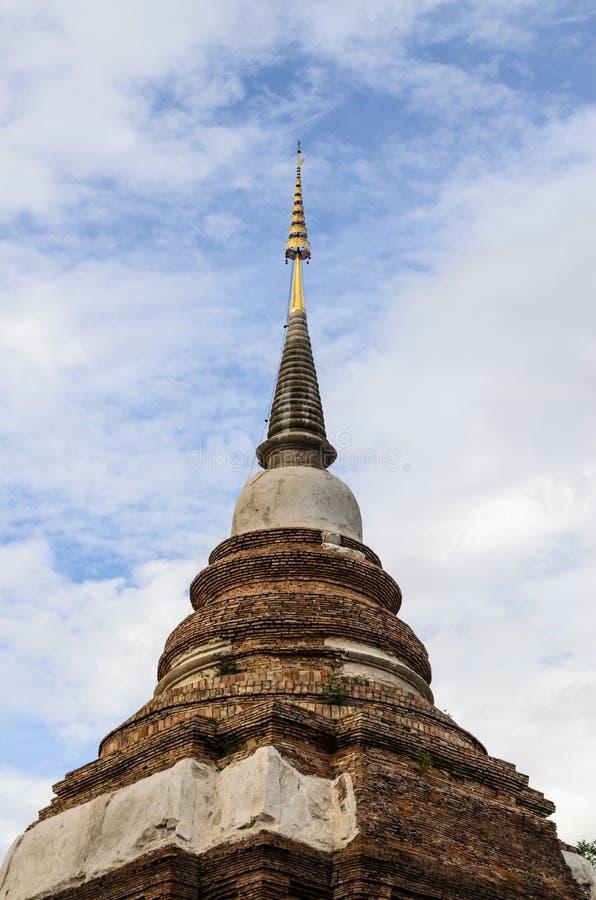 Ο ναός της Ταϊλάνδης, Wat Jed Yod, παγόδα Chiangmai είναι διάσημο ιερό π στοκ εικόνες