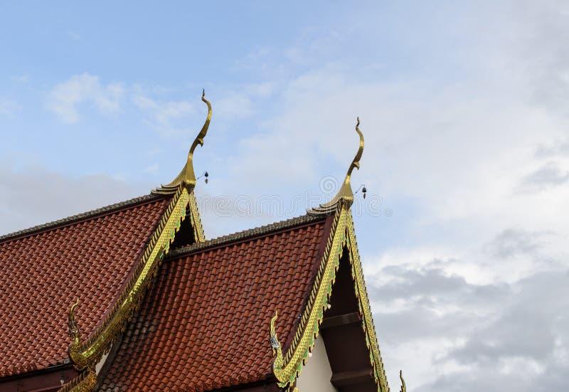 Ο ναός της Ταϊλάνδης, Wat Jed Yod, παγόδα Chiangmai είναι διάσημο ιερό π στοκ φωτογραφία με δικαίωμα ελεύθερης χρήσης