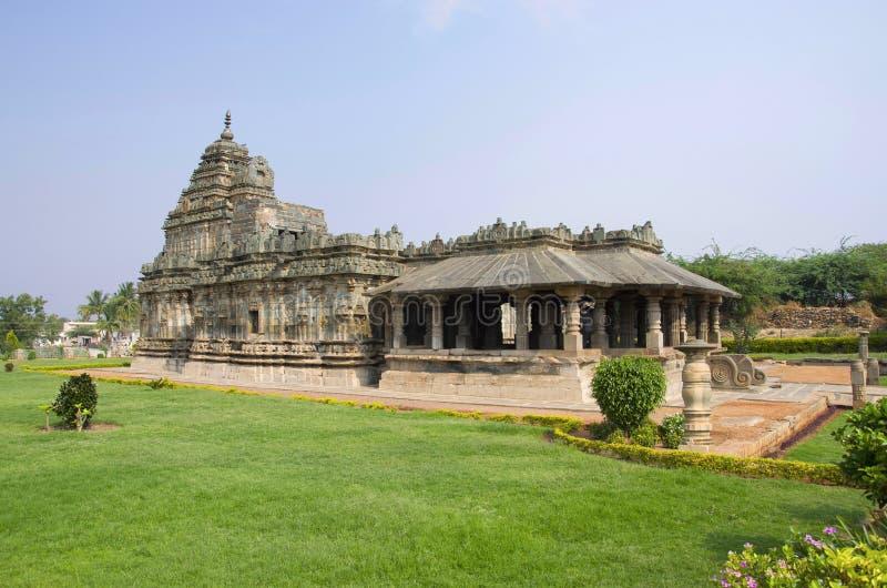 Ο ναός Jain, επίσης γνωστός ως Brahma Jinalaya, Lakkundi, Karnataka, Ινδία στοκ φωτογραφίες