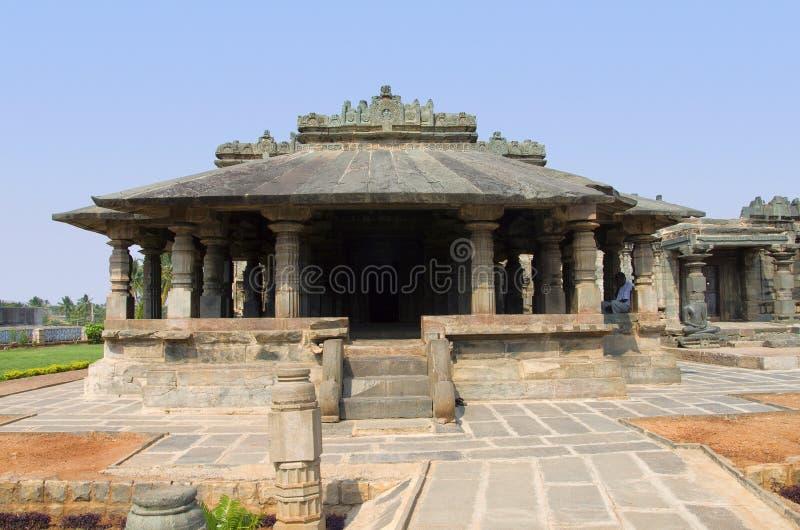 Ο ναός Jain, επίσης γνωστός ως Brahma Jinalaya, Lakkundi, Karnataka, Ινδία στοκ φωτογραφία με δικαίωμα ελεύθερης χρήσης