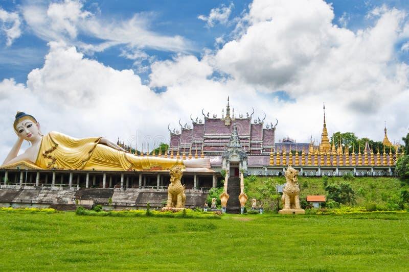Ο ναός Lanna στην Ταϊλάνδη. στοκ εικόνα