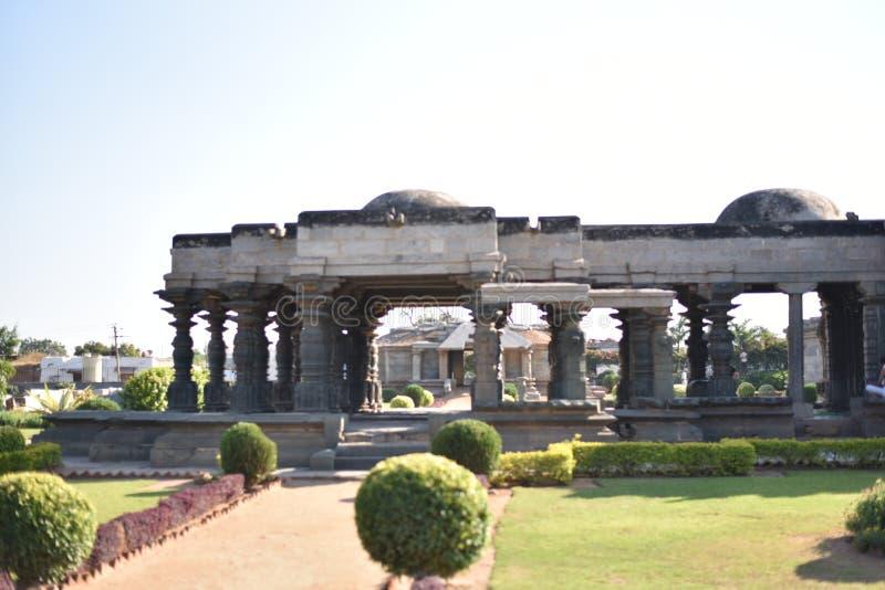Ο ναός Mahadeva, δυτικό Chalukya, Itagi, Koppal, Karnataka στοκ εικόνες