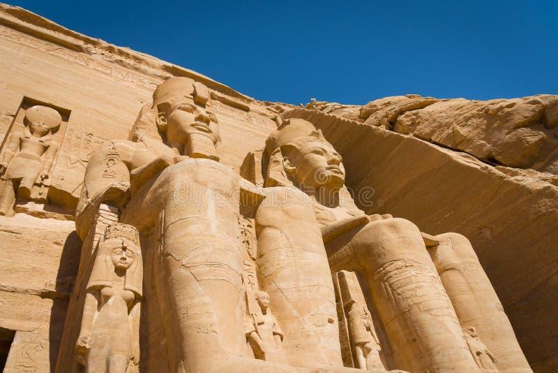 Ο ναός Ramses ΙΙ στοκ φωτογραφία