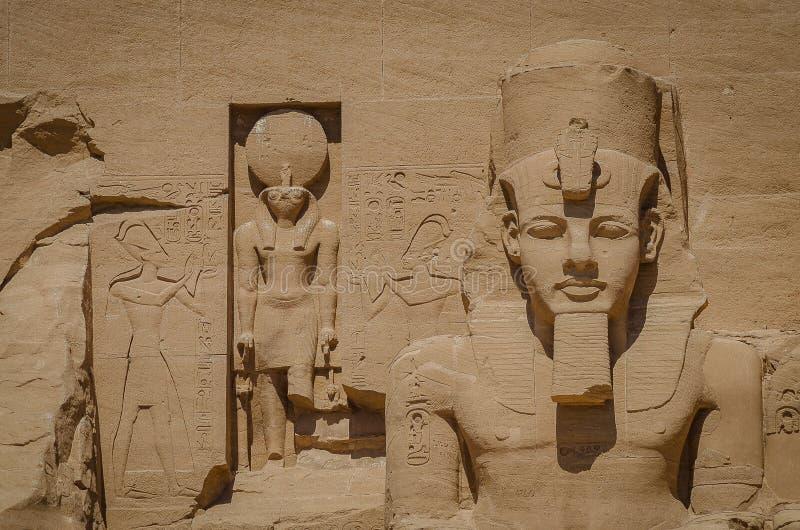 Ο ναός Ramses ΙΙ στοκ εικόνες