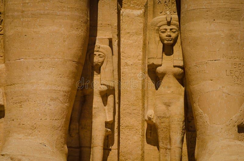 Ο ναός Ramses ΙΙ στοκ φωτογραφία με δικαίωμα ελεύθερης χρήσης