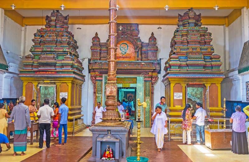 Ο ναός Shiva στοκ φωτογραφία