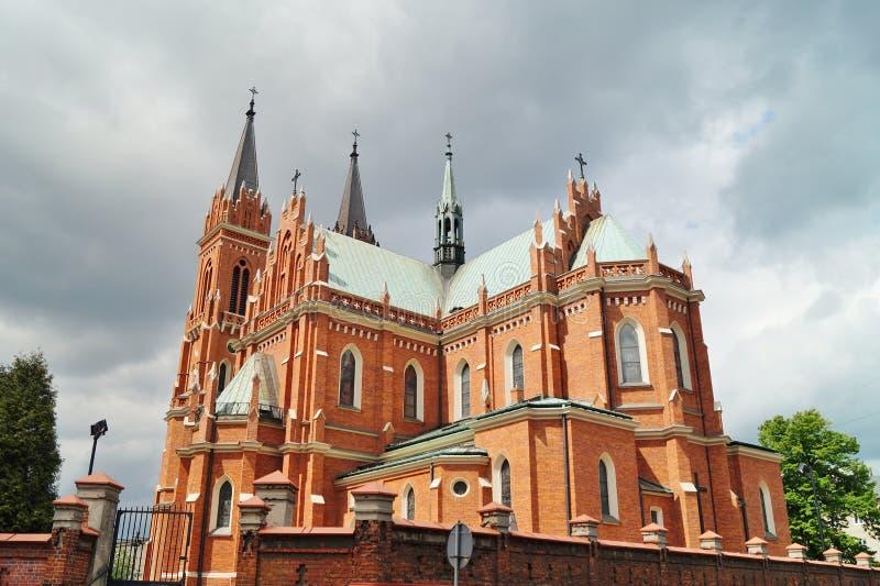 Ο νεω - γοτθική καθολική εκκλησία στοκ φωτογραφία με δικαίωμα ελεύθερης χρήσης