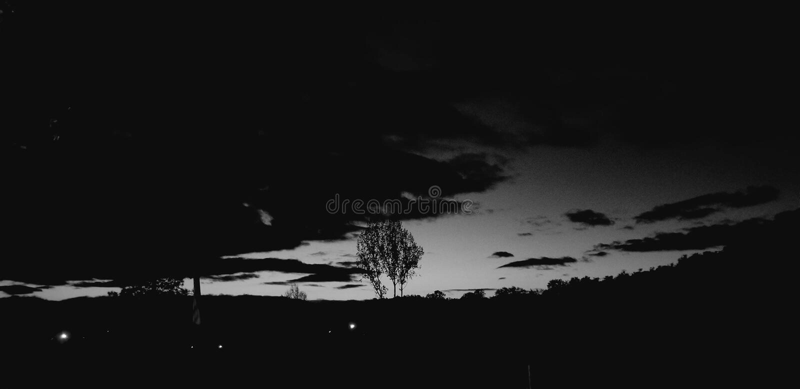Ο νυχτερινός ουρανός ονείρου μου στοκ εικόνα με δικαίωμα ελεύθερης χρήσης