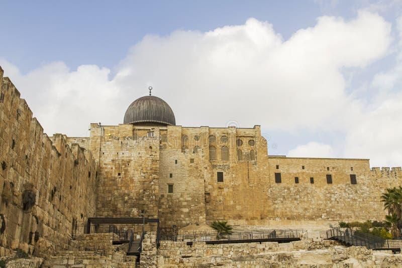Ο νότιος τοίχος του ναού τοποθετεί στοκ φωτογραφία με δικαίωμα ελεύθερης χρήσης