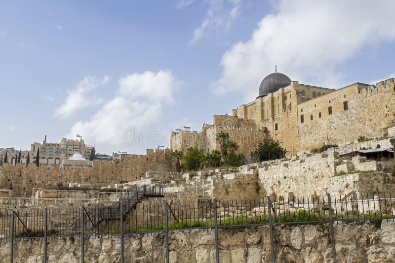 Ο νότιος τοίχος του ναού τοποθετεί στοκ φωτογραφίες με δικαίωμα ελεύθερης χρήσης