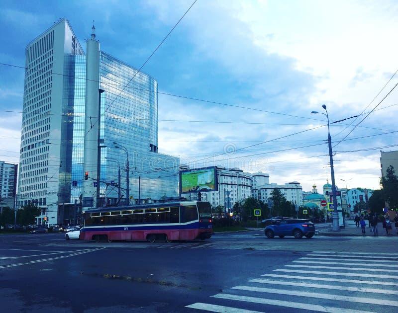 Οδοί της Μόσχας στοκ εικόνα με δικαίωμα ελεύθερης χρήσης