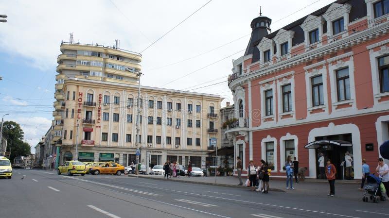οδοί Iasi στοκ εικόνα με δικαίωμα ελεύθερης χρήσης