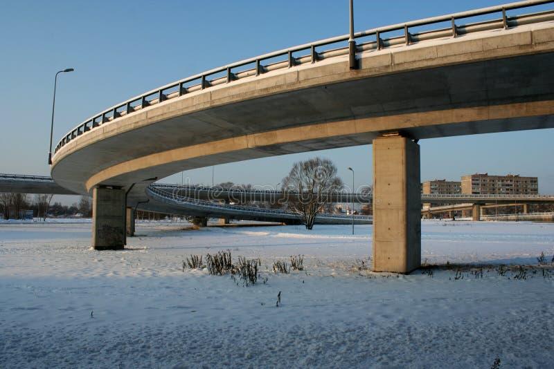 Οδογέφυρα νότιων γεφυρών στοκ εικόνες