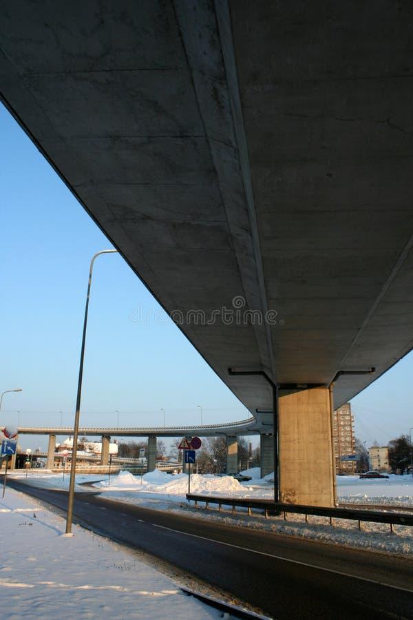 Οδογέφυρα νότιων γεφυρών στοκ φωτογραφίες με δικαίωμα ελεύθερης χρήσης