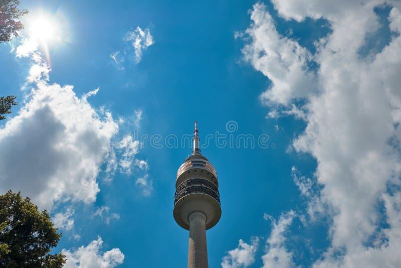 Ο ολυμπιακός πύργος στοκ φωτογραφία με δικαίωμα ελεύθερης χρήσης