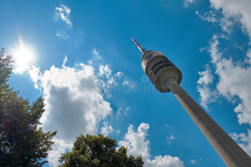 Ο ολυμπιακός πύργος στοκ εικόνες με δικαίωμα ελεύθερης χρήσης