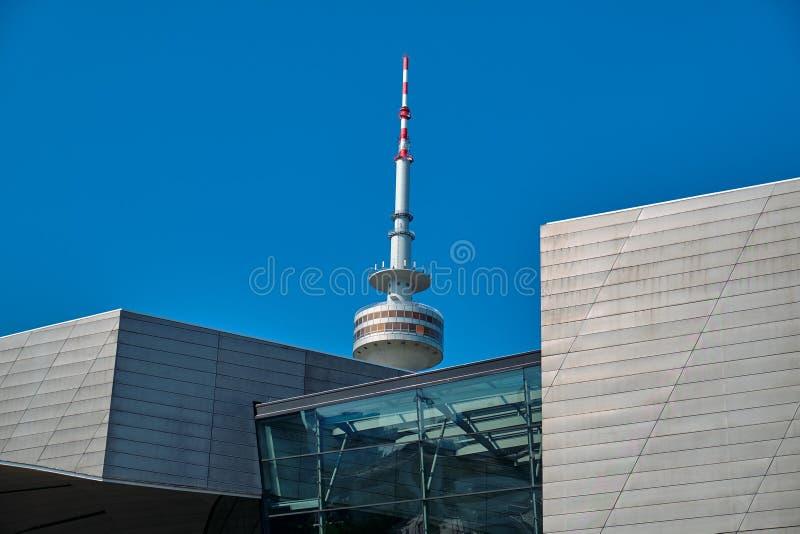 Ο ολυμπιακός πύργος στοκ φωτογραφίες με δικαίωμα ελεύθερης χρήσης