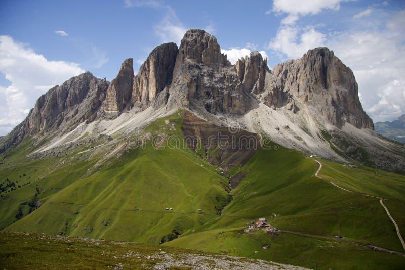 δολομίτες ιταλικά στοκ φωτογραφίες