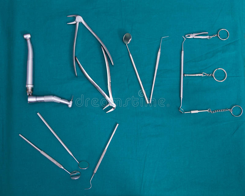 οδοντικά εργαλεία στοκ εικόνα με δικαίωμα ελεύθερης χρήσης