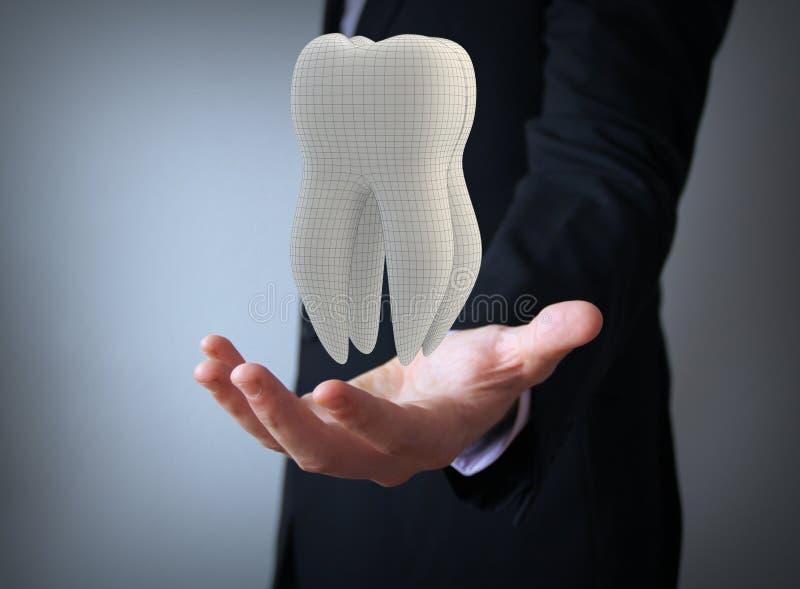 Οδοντικός τεχνικός απεικόνιση αποθεμάτων
