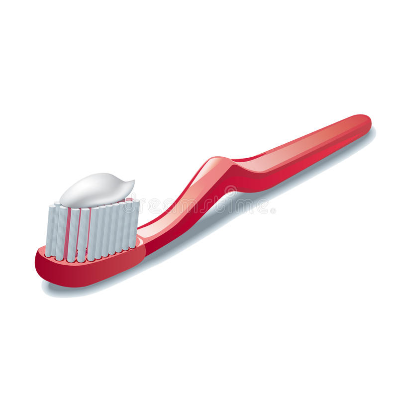 Οδοντόβουρτσα ελεύθερη απεικόνιση δικαιώματος