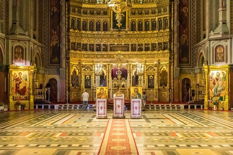 Ο ορθόδοξος καθεδρικός ναός Timisoara στοκ εικόνες