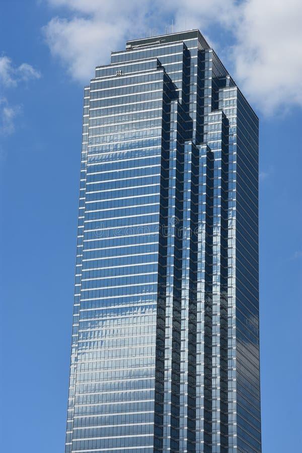 Ο ουρανοξύστης Plaza Τράπεζας της Αμερικής στο Ντάλλας, Τέξας στοκ εικόνα
