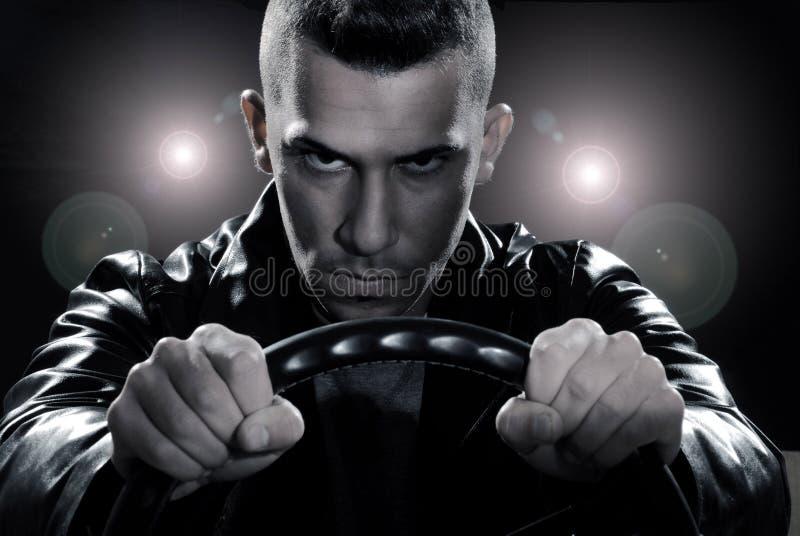 Ο οδηγός. στοκ φωτογραφία με δικαίωμα ελεύθερης χρήσης