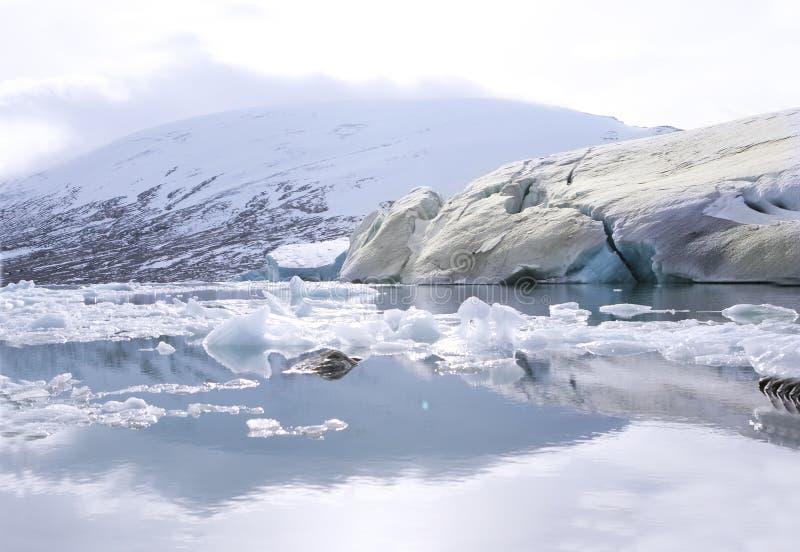 ο παγετώνας στοκ εικόνα