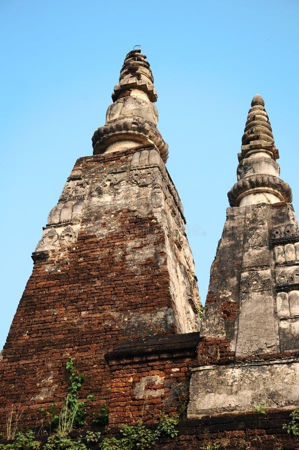 Ο παλαιός ναός στο chiangmai, Ταϊλάνδη στοκ εικόνες με δικαίωμα ελεύθερης χρήσης