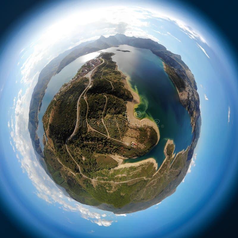 Ο πλανήτης Riaño στοκ εικόνες με δικαίωμα ελεύθερης χρήσης