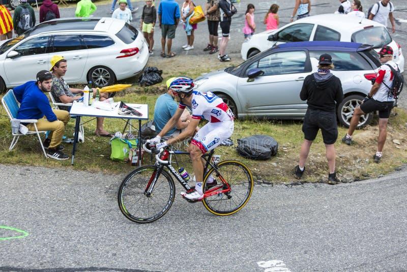 Ο ποδηλάτης Benoit Vaugrenard - περιοδεύστε το de Γαλλία το 2015 στοκ φωτογραφίες με δικαίωμα ελεύθερης χρήσης