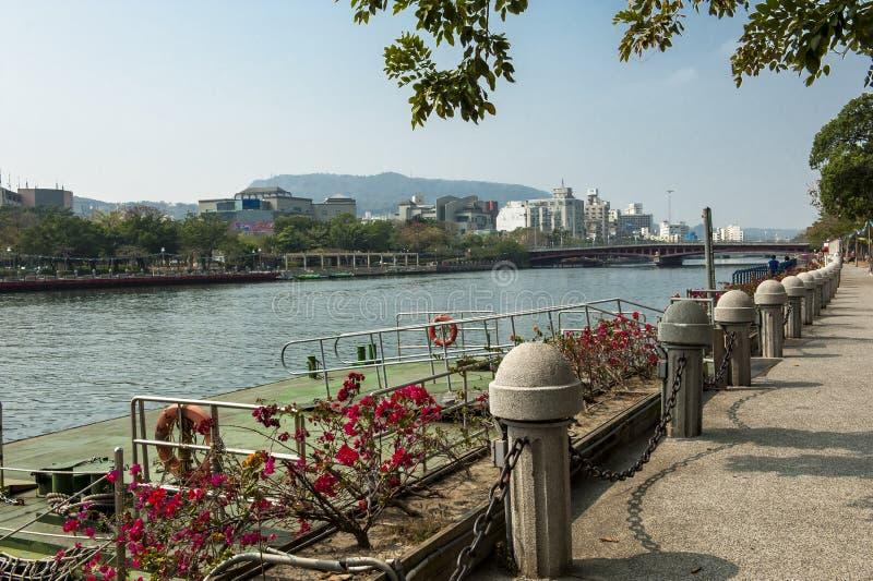 Ο ποταμός αγάπης του kaohsiung στοκ φωτογραφία με δικαίωμα ελεύθερης χρήσης