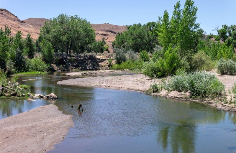 Ο ποταμός του Carson στοκ εικόνες